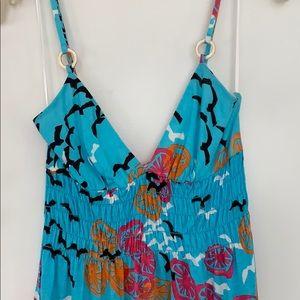 Trina Turk Dresses - Trina Turk Size Small Embellished Strap Dress